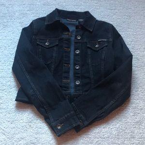 DKNY Denim Cropped Jacket Size XS